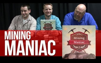 Mining Maniac Board Game Review