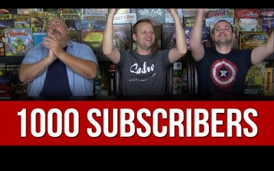1000 Subscriber Celebration
