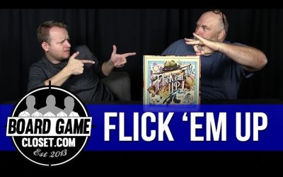 Flick Em Up board game review