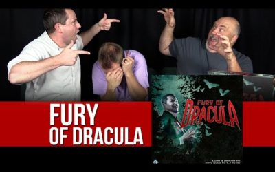 Fury of Dracula Board Game Review