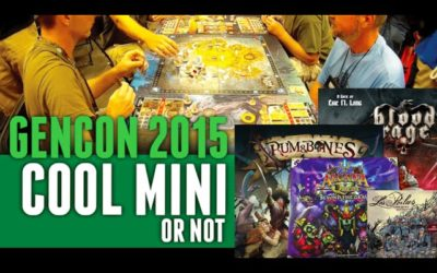 GenCon 2015 Cool Mini or Not