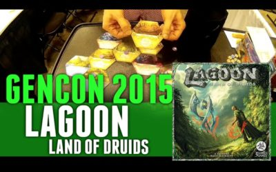 GenCon 2015 Lagoon: Land of Druids