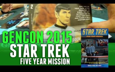 GenCon 2015 Star Trek Five Year Mission
