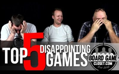 Top 5 Disappointing Games