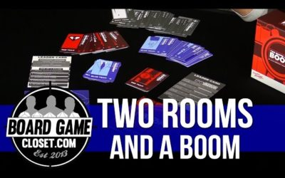 Two Rooms and a Boom