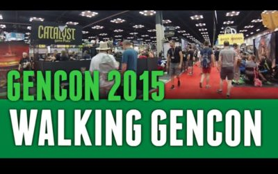 Walking GenCon 2015