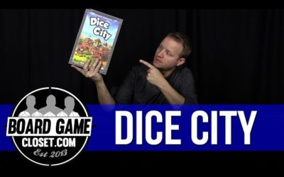 Dice City board game review