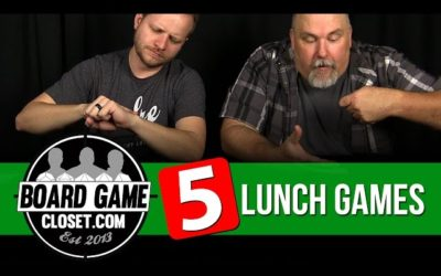 Five Lunch Games