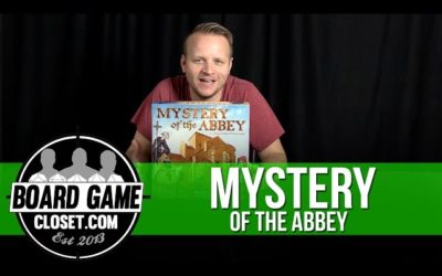 Mystery of the Abbey Board Game Review