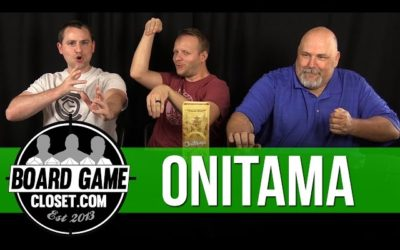 Onitama Board Game Review