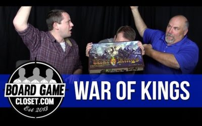 War of Kings board game review