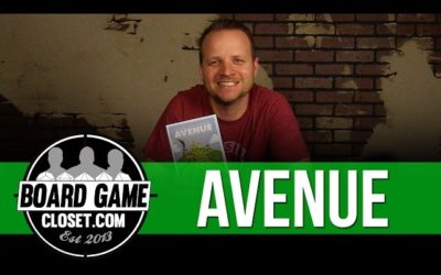 Avenue Board Game