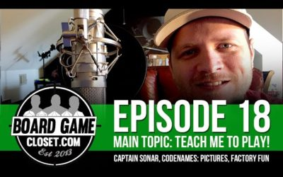 Audio Podcast Episode 18: Teach me to play!