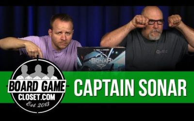 Captain Sonar Board Game Review
