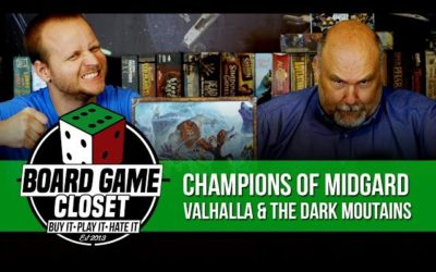Champions of Midgard Valhalla and The Dark Mountains