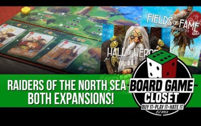 Both expansions to Raiders of the North Sea!