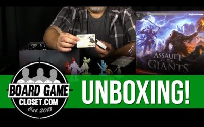 Unboxing Video: Assault of the Giants