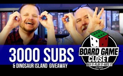 3000 Subs & Dinosaur Island Giveaway